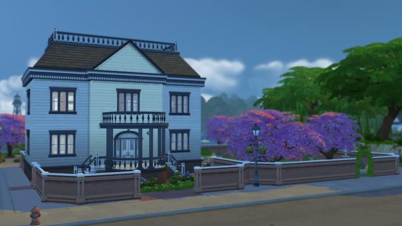 Les Sims 4  bibliothèque