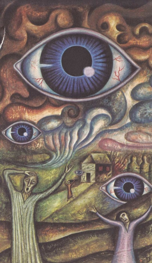 Monster Brains Jan Parker - Paintings Of Witchcraft And
