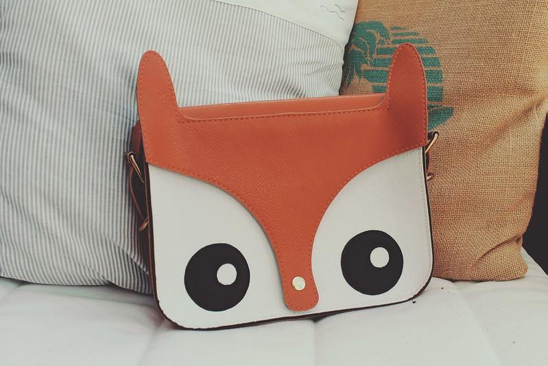 Fox satchel
