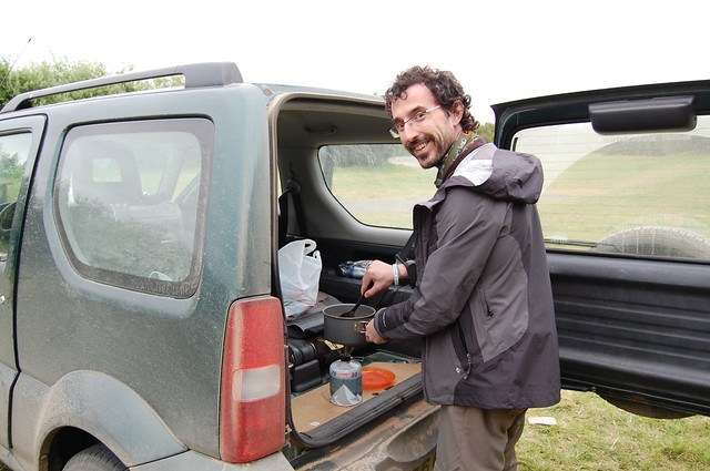 cook into the jimny