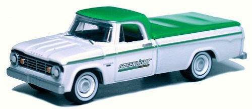 21 Greenlight Dodge D-100 1965