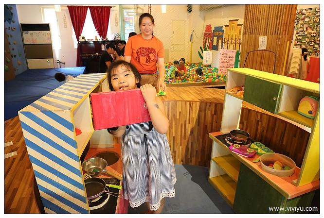 新竹,沙坑,球池,美食,親子餐廳,關西,青境花墅 @VIVIYU小世界