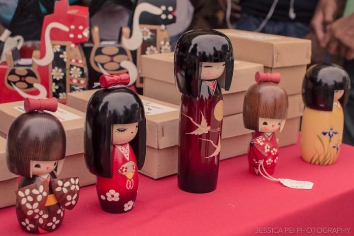 Japanese wood dolls toys