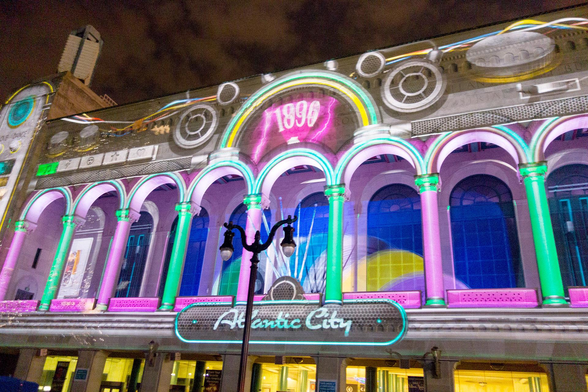 3D Light & Sound Show, Atlantic City Boardwalk Hall.