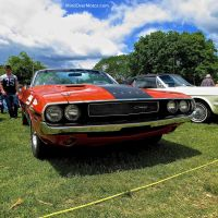 1970 Dodge Challenger R/T 440 Six Pack Convertible at the Greenwich Concours
