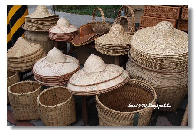 盒子的網路日誌: [花蓮]壽豐鄉的竹編藝品店