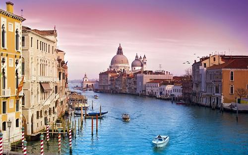 Beauty Of Venice Widescreen Hd Wallpaper