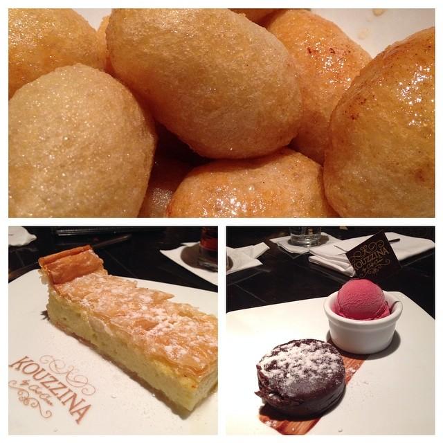 #desserts at #kouzzina by Cat Cora at #disney #boardwalk #dinearounddisney2014 #tppb #day3