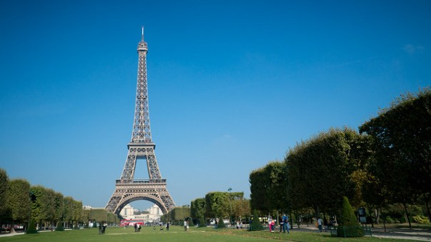 Eiffel Tower from Champ de Mars