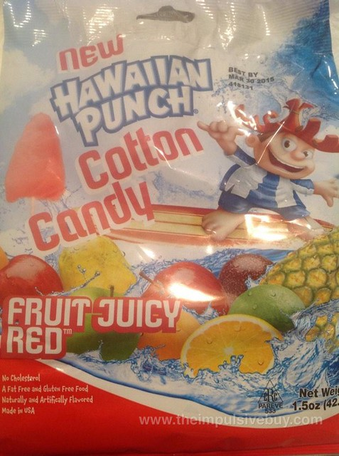 Hawaiian Punch Fruit Juicy Red Cotton Candy