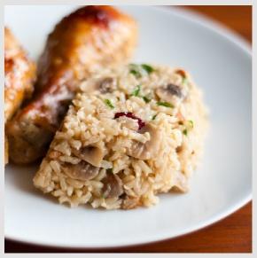 Baked Chicken & Wild Rice