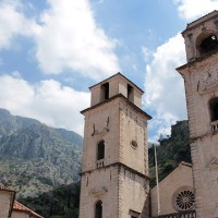 The medieval town of Kotor