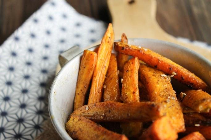 frites de carotte