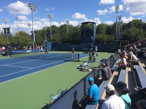 US Open Tennis 2014 Practice Day