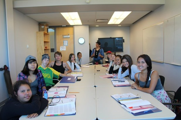 Aboriginal math/english camp