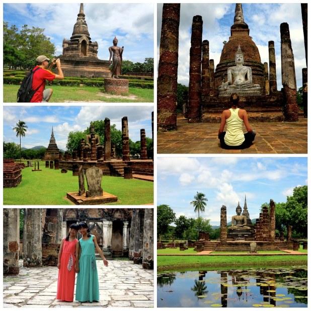 De Bangkok a Sukhothai