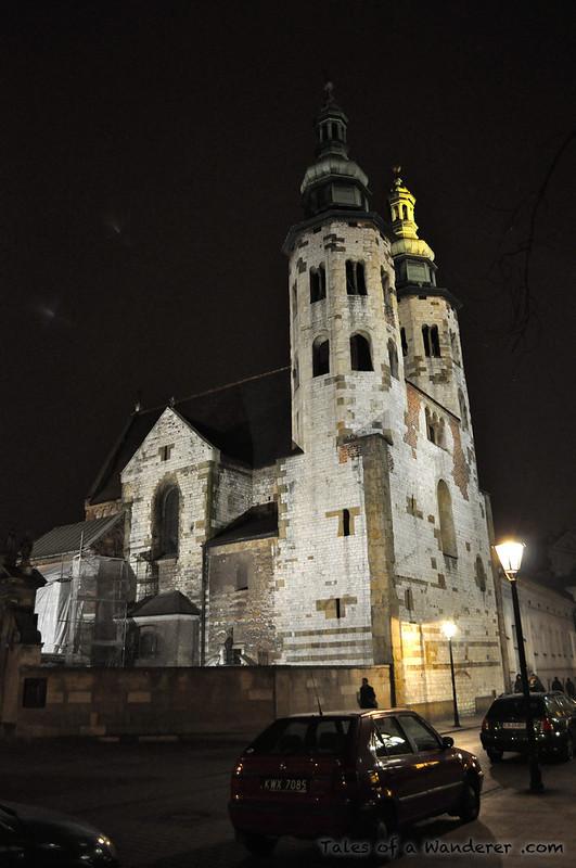 KRAKÓW - Plac św. Marii Magdaleny - Kościół św. Andrzeja