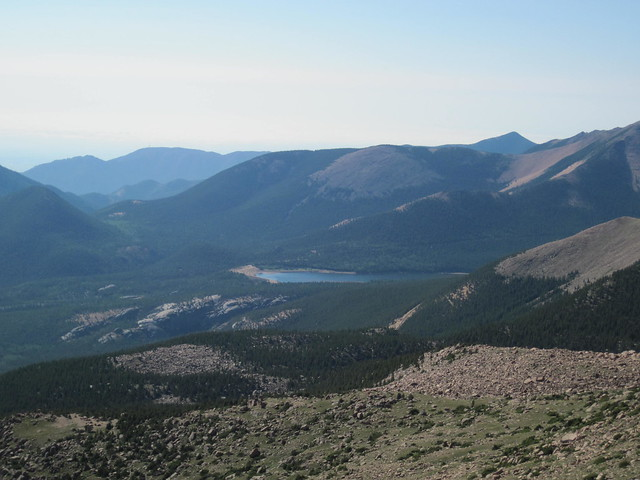 Picture from Pikes Peak, Colorado