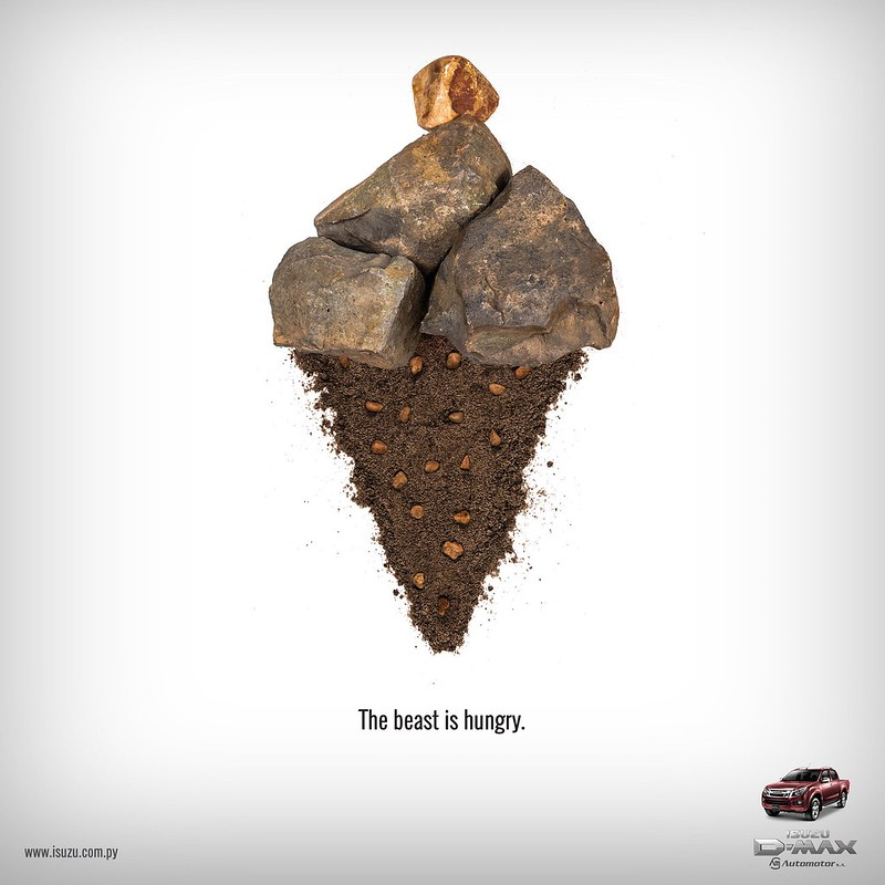 Isuzu - The Beast is Angry Ice-Cream