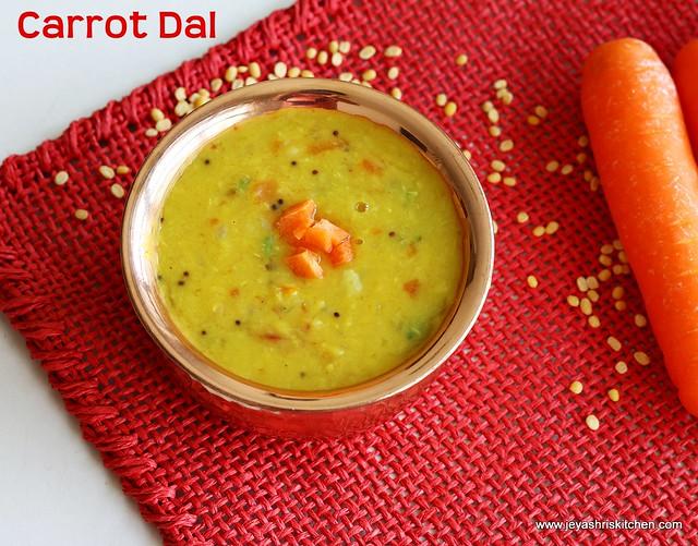 Carrot-dal