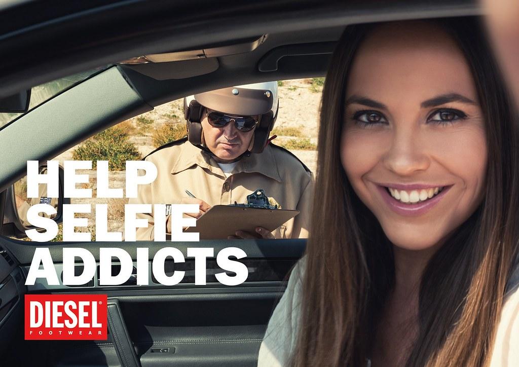 Diesel - Help Selfie Addict