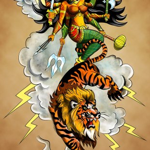 Durga Descends