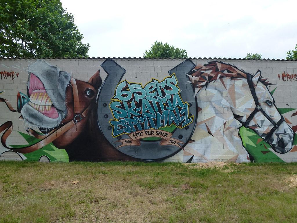 Hippodrome Laloubère Graffiti