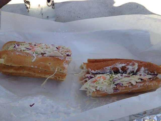 Turkey sandwich from KJ's Heroes