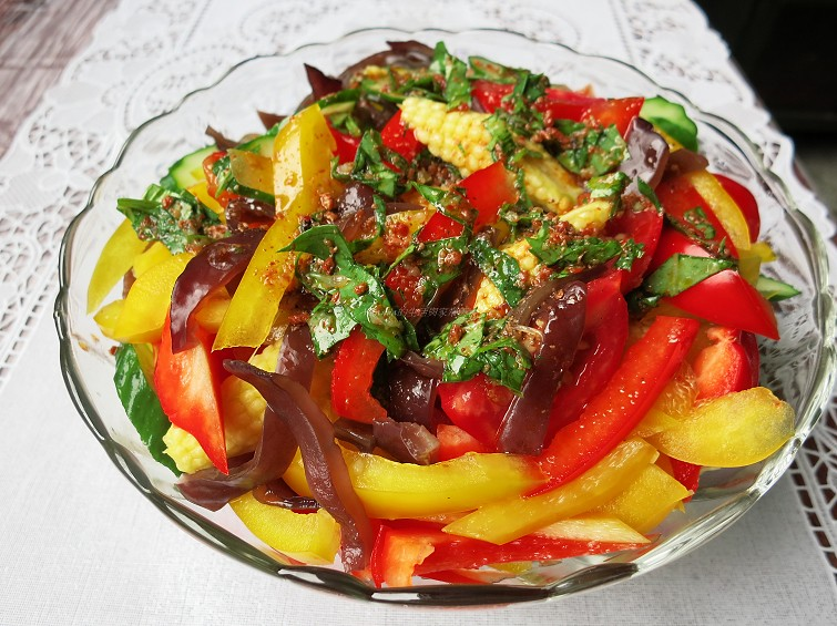 酸麻辣開胃涼拌菜 (1)