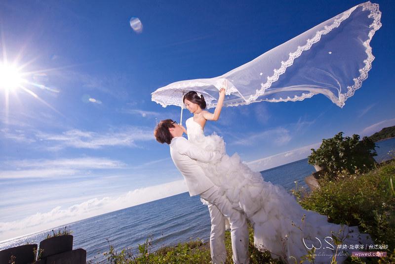 12張精選臺灣海邊婚紗照推薦 | 結婚大小事.迎娶流程.求婚教學/華納婚紗所有婚禮相關知識都在這裡