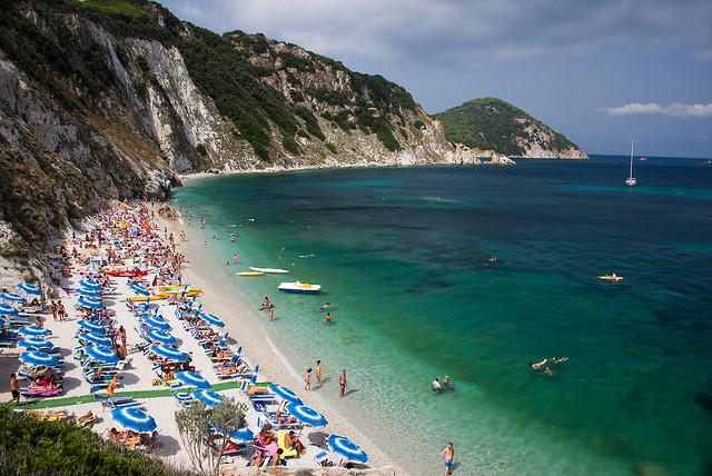 Sansone Beach, Elba Island, Italy