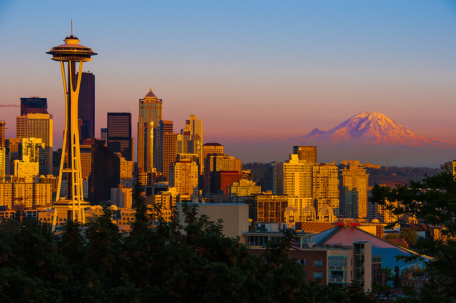 Full Screen Fall Wallpaper Seattle Sunset Flickr Photo Sharing