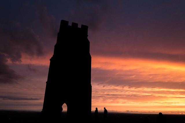 220/365 - Glastonbury Tor at sunset