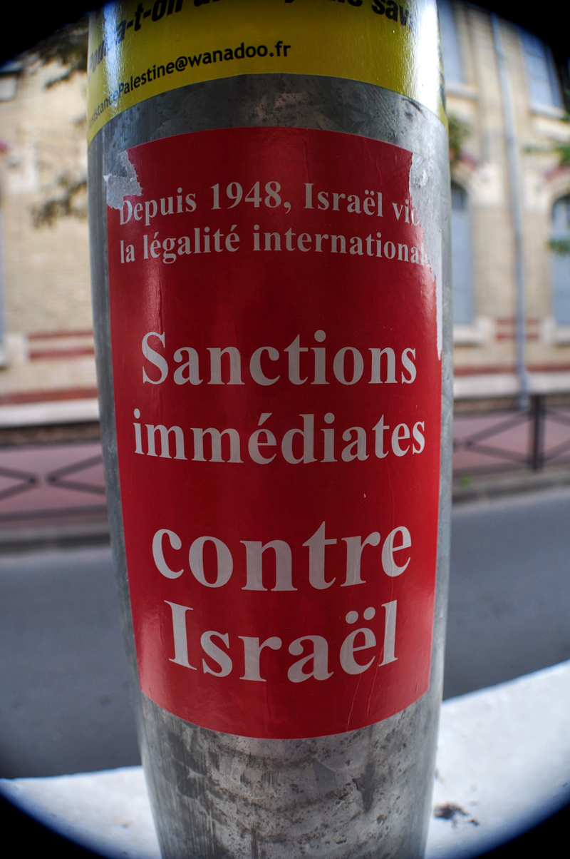 Sanctions immédiates contre Israël