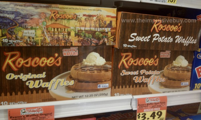 Roscoe's Original Waffles and Roscoe's Sweet Potato Waffles