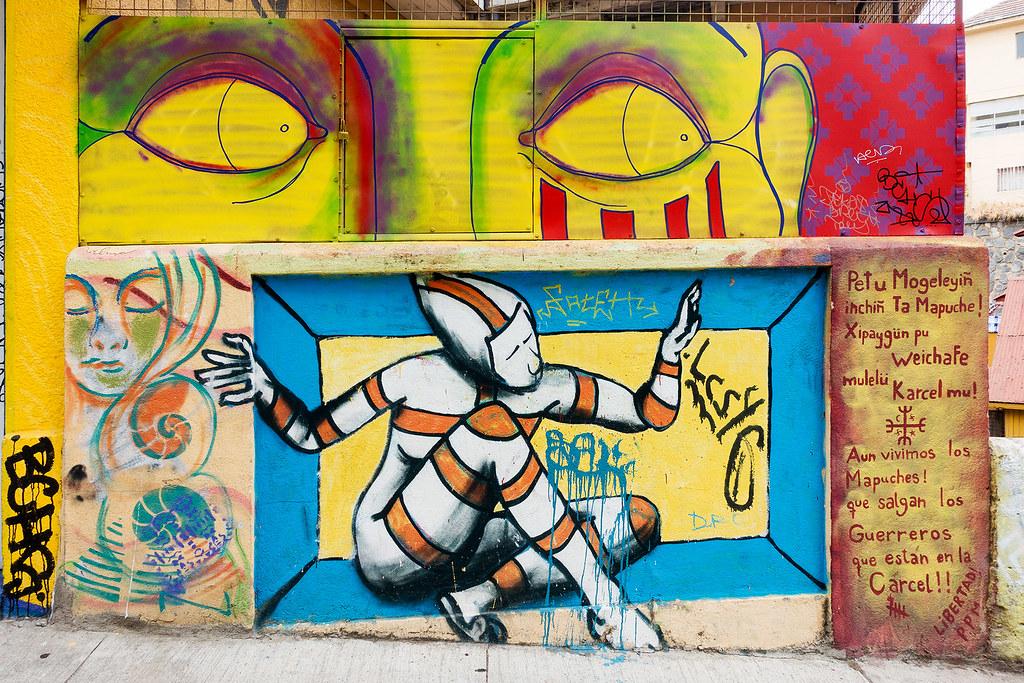 Street Art Valparaiso 07