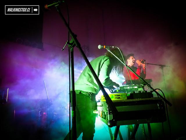 @astrosonidoespa en @laromascl / @faunaprod -@milm2_ -25-07.2014- #músicachilena #TeatroItalia #IF