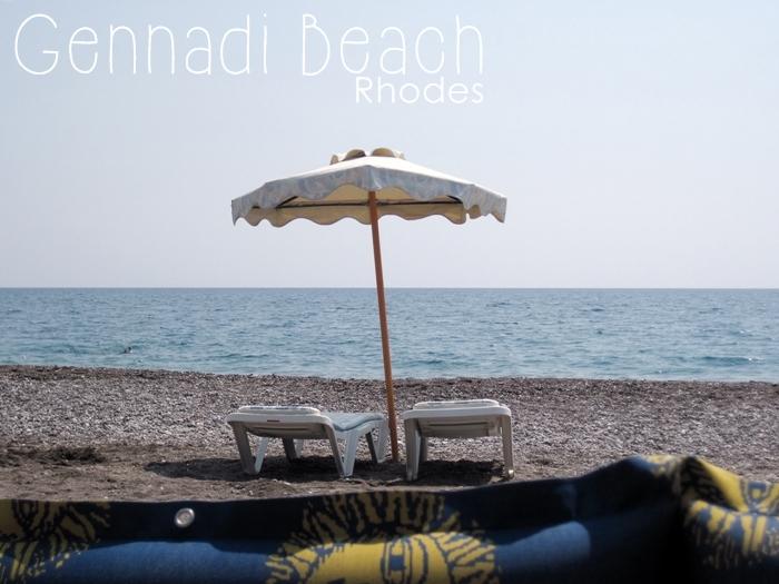 Gennadi Beach Rhodes Rhodos Rodos