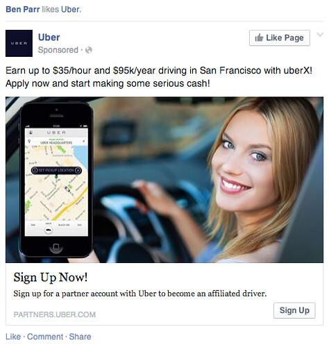 UberX truth in advertsing