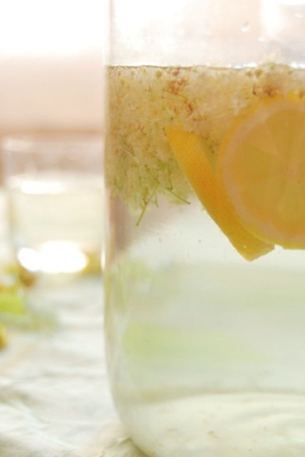 Flavoured Water: Elderflower and Linden Blossom