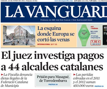 14f28 La Vanguardia denuncia corrupción municipal catalana