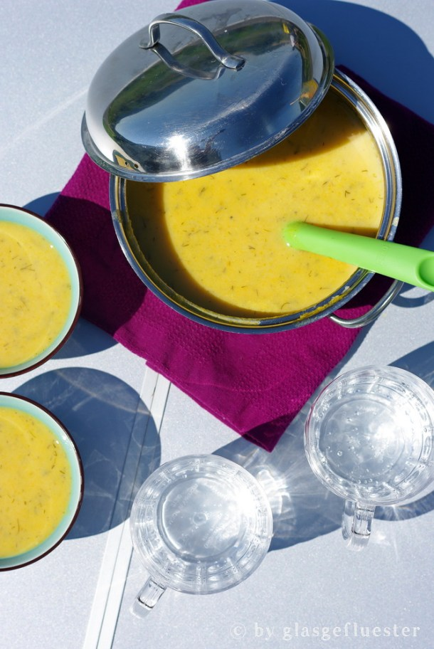 Campingwoche Möhren Dill Suppe by Glasgefluester 5 klein