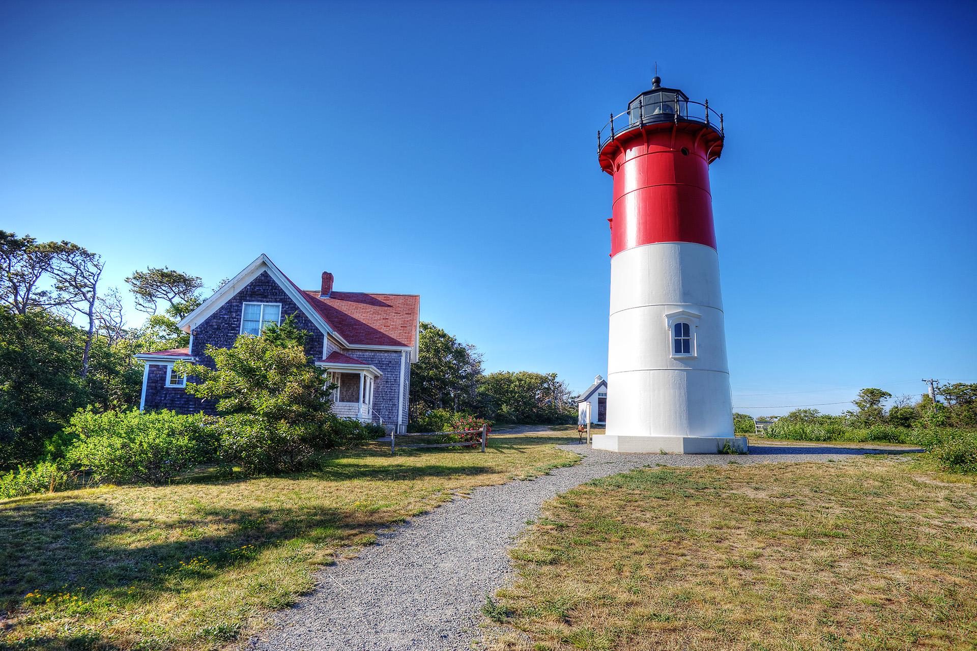 Nauset Lighthouse, Cape Cod, MA.