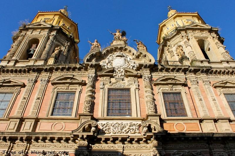 SEVILLA - Iglesia de San Luis de los Franceses