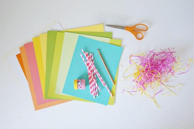 color party supplies