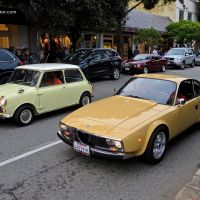 Mk. 1 Mini Cooper S and 1973 Alfa Romeo 1600 Junior Zagato spotted in Carmel, CA