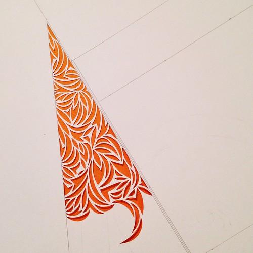 Work in progress paper cut design