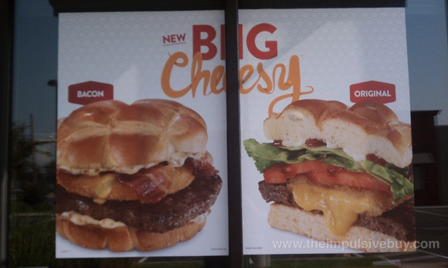 Jack in the Box Big Cheesy Burgers