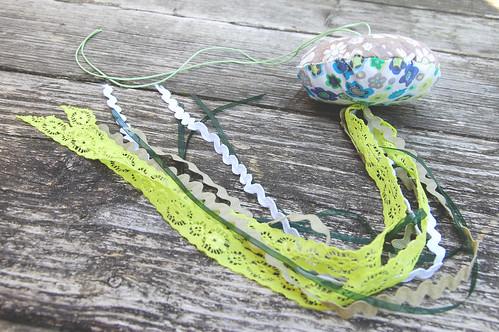 Studio Paars - Jellyfish: kwal knutsel van restjes stof