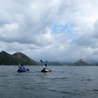 Kayaking in Lake Skadar